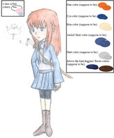 Lilias (Lily) Candor COLOR Reference by R3dArkang3l