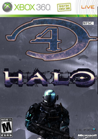 halo 4 cover art by surane90000