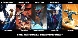 The Vindicators banner by RODCOM1000