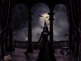 The Witches Den by magicsart