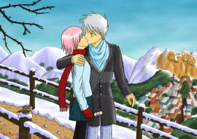 Walking in the Snow by Xx-SaSa-xX