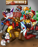 Dawn Fortress 2 by BaldDumboRat