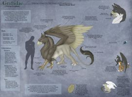 Theran Gryphon - Species Sheet by Ulario