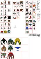 Mechanizer Robot sprites by chasz-manequin