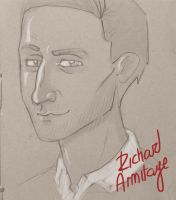 Richard Armitage's Sexy Face by TeaForOne