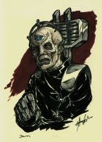 Davros - Commission by Marker-Mistress