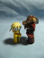 Wobbles: Seras and Pip by okapirose