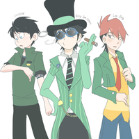 My top three, the clothes change clothes by ohthree
