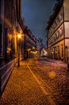 early night lights by Ditze