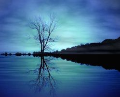 Lonesome Tree by nirmit