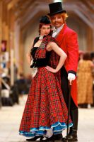 2011: Tartan (Moulin Rouge) by shari81