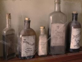 Potions and Poisons by atsouza