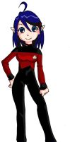 Starfleet Uniform - TNG3 by Glee-chan