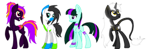 MLP Adoptable Batch - Rave - CLOSED by M00nlightMagic