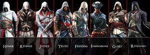 Assassin's Creed Unity Facebook Cover by AkNiazi