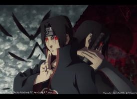 Uchiha Itachi In The Dark by IITheYahikoDarkII