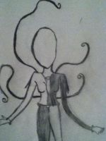 Slender Woman by FluffehPickleLivi