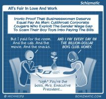 All's Fair In Love And Work by schizmatic