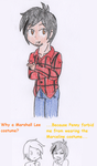 Kevin as Marshall Lee by RaijinSenshi
