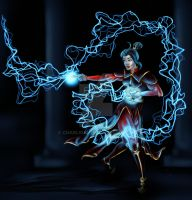 Lightning Bender by charligal