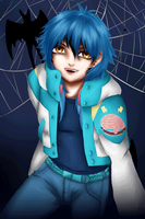 Halloween OC Cosplay - Tirau D. Gemini as Aoba by Animefanka