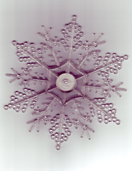 Glitter Snowflake by HK-Stock
