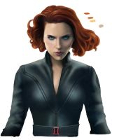 Black Widow - Natasha Romanoff (Work in progress) by Lythara