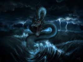 King of the Boiling Sea WP by zilla774