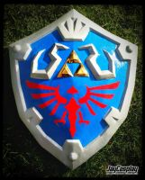 'Skyward Sword' Hylian Shield (Front) by JayCosplay