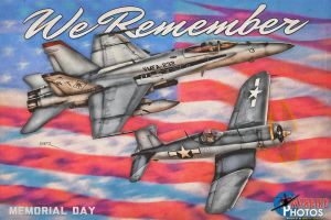 Memorial Day Tribute 2016 by warbirdphotographer