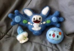 Litwick Reuniclus Solosis Felt by TheHarley