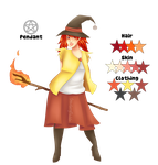 Delphox Witch Auction [OPEN] by strawberryfluffies