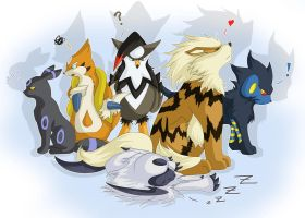4th Generation Pokemon Team by That-Stupid-Dingo