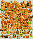 Pile o' Pumpkins Collab by ShoneGold