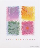 Anniversary Greeting Card by Ransolo