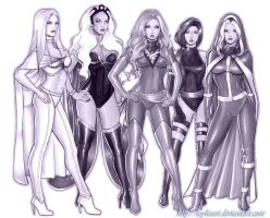 WoC: X-Women by icyheart