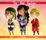 [THE NEW REALITY] The Power Trio by melonstyle
