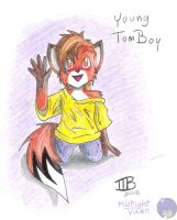 Young TomBoy by MidNight-Vixen