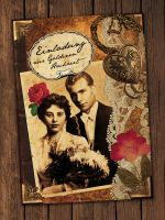 nostalgic wedding card II by Catliv