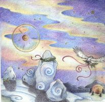 Solstice Night by Spiralpathdesigns
