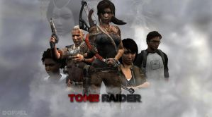 Tomb Raider survivor (wallpaper version) by doppeL-zgz