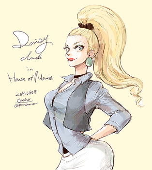 Daisy by chacckco