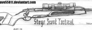 Steyr Scout Tactical by CrazyDave55811
