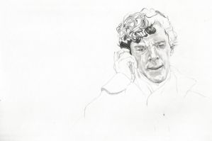 Sherlock's ''Death'' WIP by michaelmdw