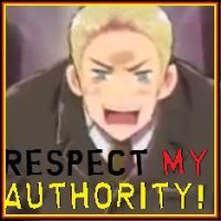 Respect my authority by Inunobaka
