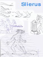 Kaiju: Sketching in the office by Cyprus-1