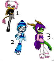 adoptables group by Mongoosegoddess