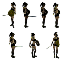Female Warrior_by_brotherguy by BrotherGuy