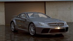 Mercedes-Benz 2009 SL65 AMG Black Series by melkorius