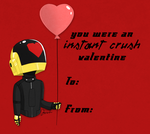Daft Punk Valentines by MrDaftCraft